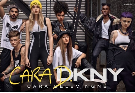 Cara-Delevingne-DKNY-Campaign