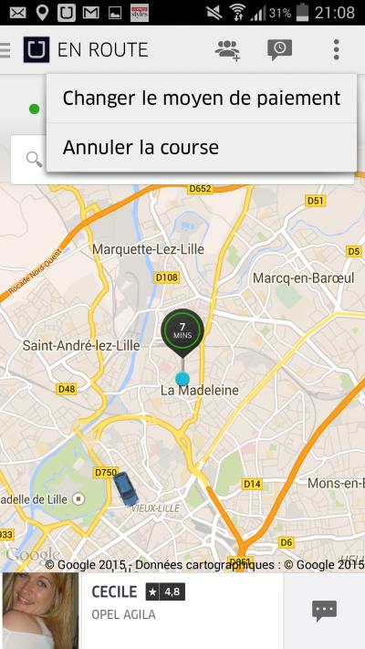 Uber annuler