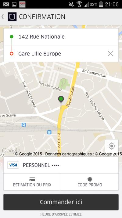 uber estimation 2