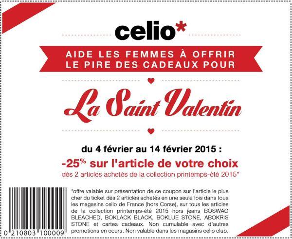 Celio promotion