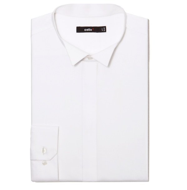 celio chemise coton egyptien 39,99€