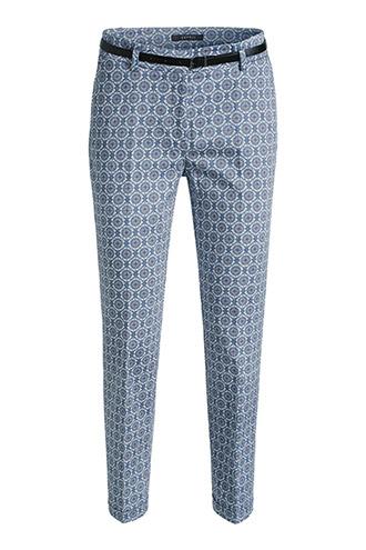 pantalon à motifs esprit